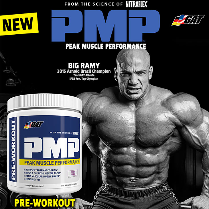 GAT PMP Intense Pre-Workout