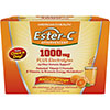 Ester-C 1000 mg Effervescent Plus Electrolytes - 21 Packet Powder - Natural Orange
