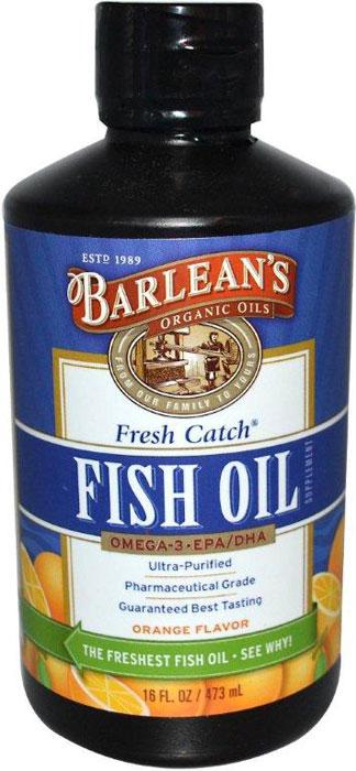 Barlean 39 s signature fish oil orange flavor for Barleans fish oil