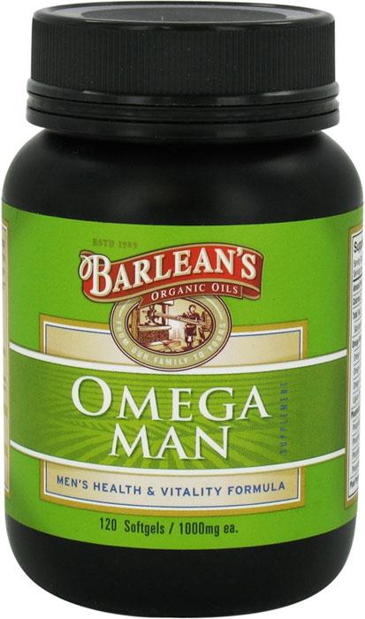 Barlean 39 s omega man 120 softgels for Barleans fish oil