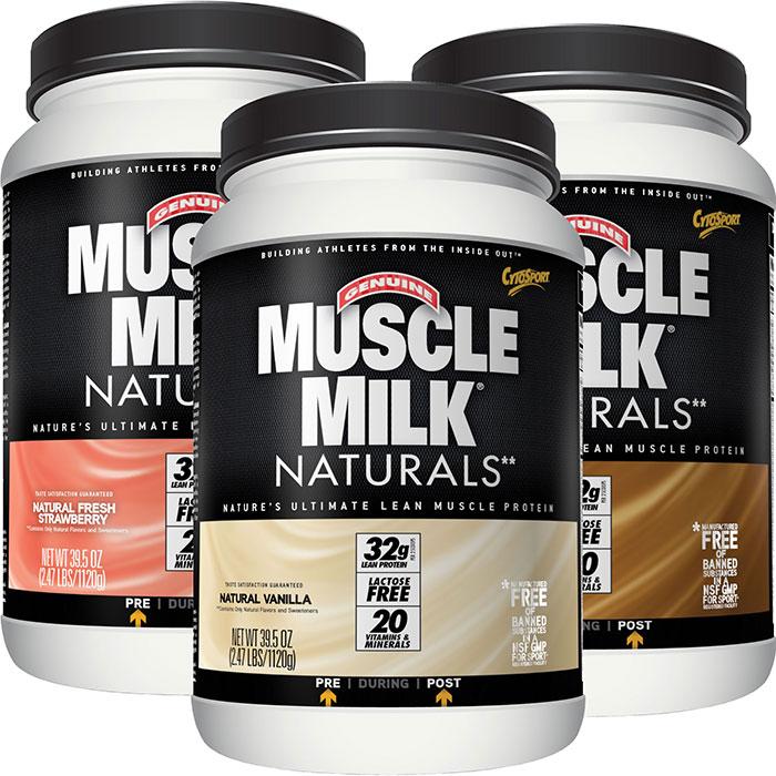Muscle milk naturals