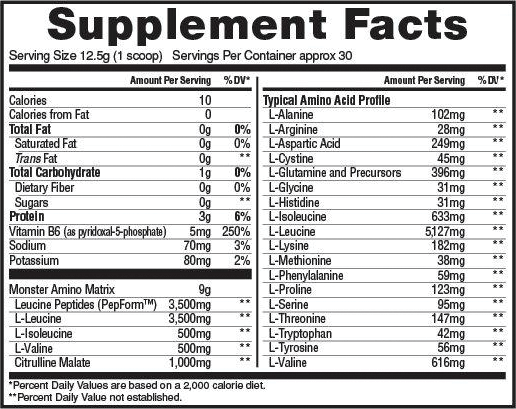 l leucine anabolic food additive