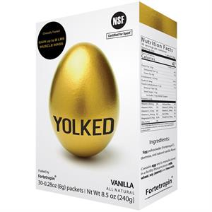 YOLKED with Fortetropin By Myos Rens Technology - 30 Packets, One Month Supply