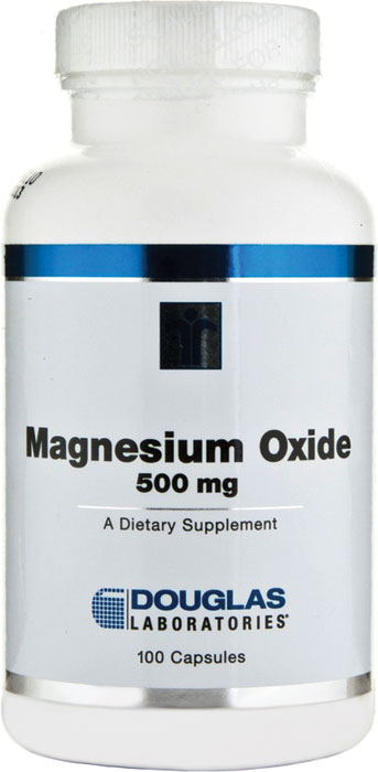 Douglas Labs Magnesium Oxide 500 mg 100 Capsules