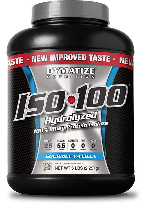 Insta Supplement Magazine: Dymatize ISO-100 Gourmet Vanilla 5 Lb, 77 Servings