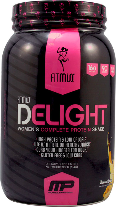 Fitmiss Delight Women S Complete Protein Shake Banana