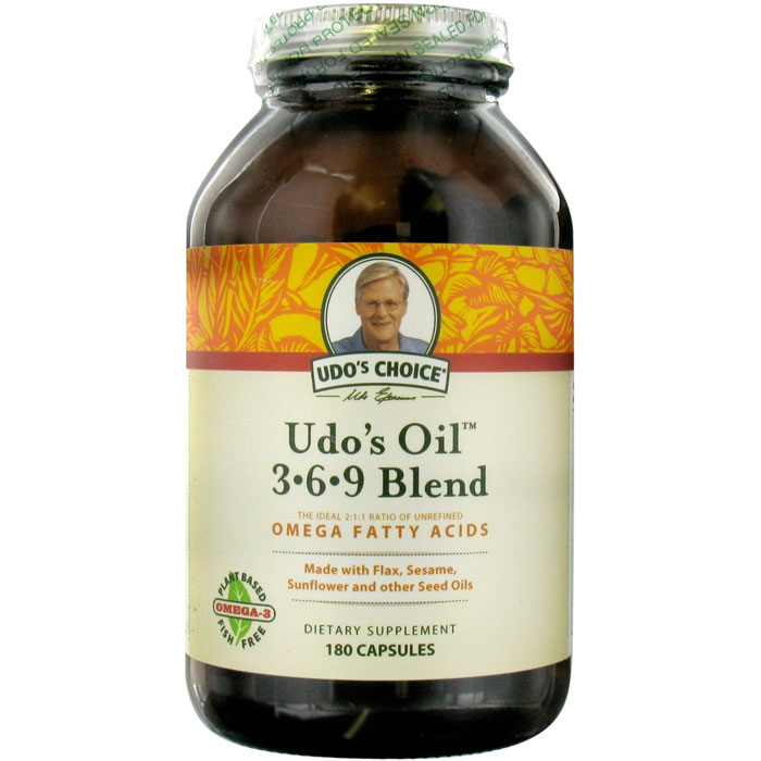 Flora Udo's Choice Udo's Oil 3-6-9 Blend 180 Capsules