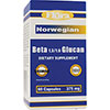 Flora Norwegian Beta Glucan - 375 mg, 60 Capsules