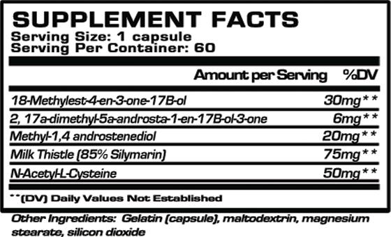 is decaplexx 850 a steroid