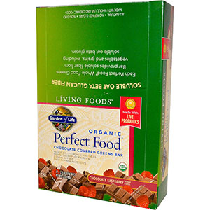 Garden of life living foods 12 organic whole food bars for Food bar garden