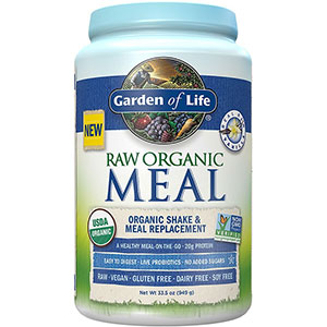 Garden Of Life Raw Organic Meal Shake Meal Replacement Powder Vanilla 33 5 Oz 949g