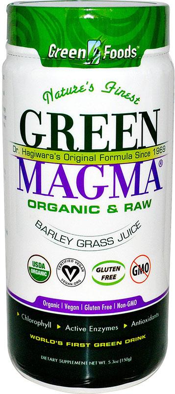 Green Magma Barley Grass Juice Powder 5 3 Oz 25 Servings