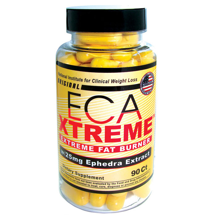 Hi-Tech Pharmaceuticals ECA Xtreme With 25mg Ephedra Extract - 90 ...