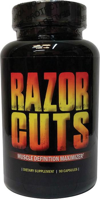 Hot Stuff Razor Cuts 90 Capsules