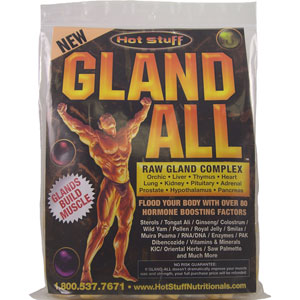Hot Stuff Gland-All 30 Day Supply