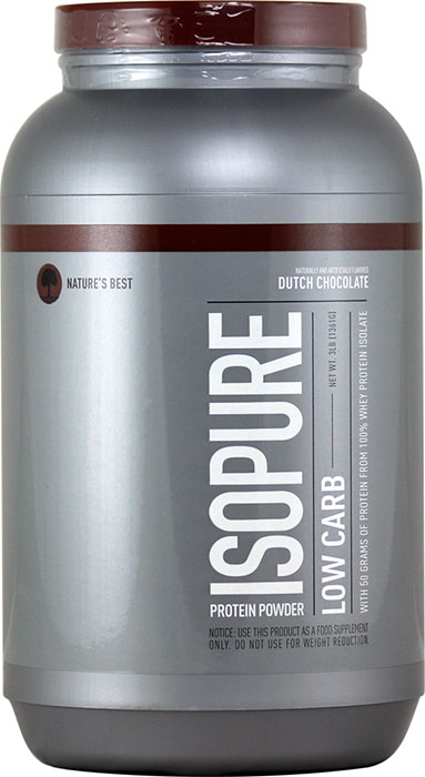 Isopure dutch chocolate
