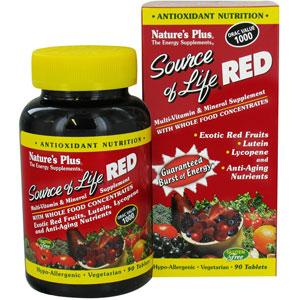 Nature S Plus Source Of Life Red Liquid
