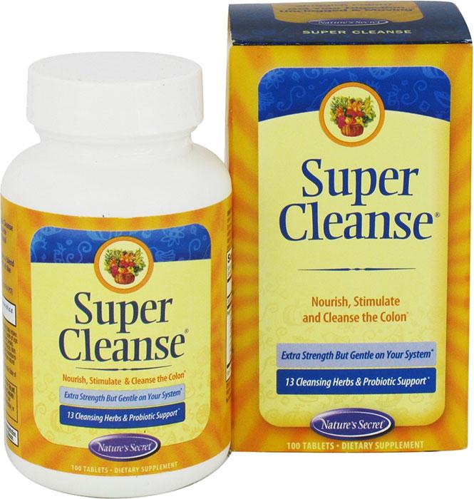 Super cleanse natures secret