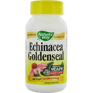 Echinacea and golden seal