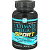 Nordic Naturals Ultimate Omega-D3 Sport 1000 mg - 60 Softgels, 30 Servings