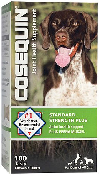 nutramax cosequin standard strength plus for dogs 100 chewable tabs. Black Bedroom Furniture Sets. Home Design Ideas