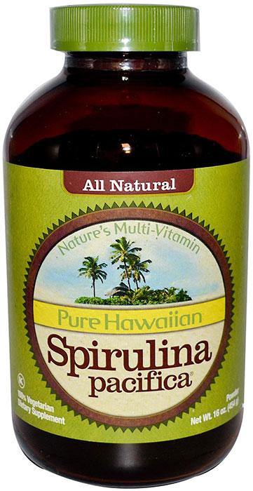 Hawaiian pacifica spirulina powder