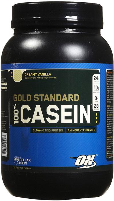 On gold standard 100 casein