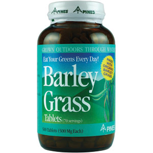 Pines Barley Grass 500 Tablets