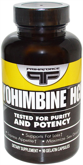 What is yohimbine hcl