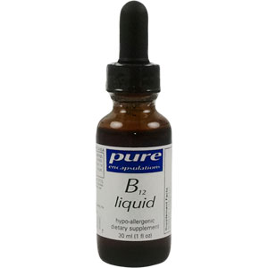 Pure Encapsulations B12 Liquid 30ml - 1000 mcg