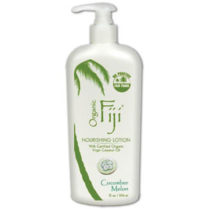 Organic Fiji Virgin Coconut Oil Cucumber Melon 12 oz