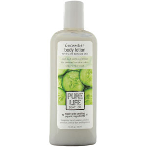 Pure Life Soap Co. Cucumber Body Lotion 14.9 oz