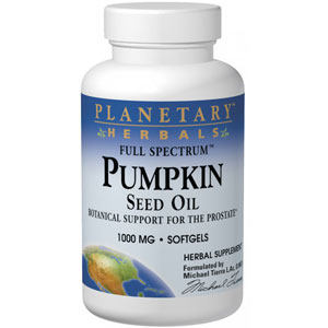 Planetary Herbals Pumpkin Seed Oil Full Spectrum 90 Softgels