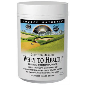 Source Naturals Whey To Health Premium Protein Powder
