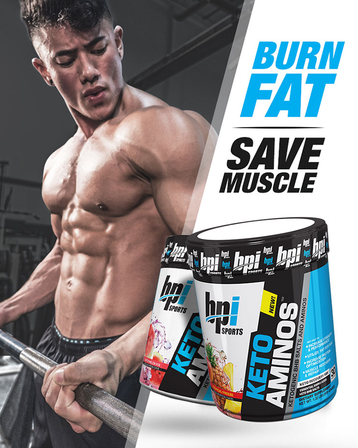 BURN FAT, SAVE MUSCLE - KETO AMINOS