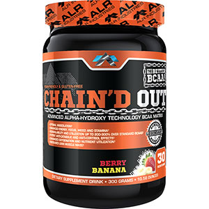ALRI Chain'd Out BCAA Matrix Berry Banana 300 gm - 30 Servings