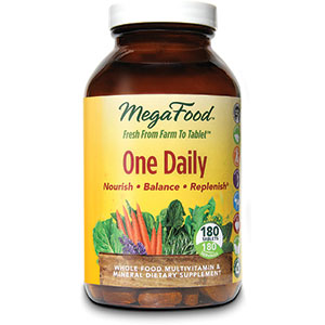 MegaFood One Daily Multivitamin 180 Tablets