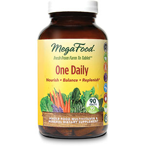 MegaFood One Daily Multivitamin 90 Tablets