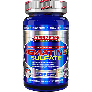 Allmax Nutrition Agmatine Sulfate 1.2 oz 45 servings