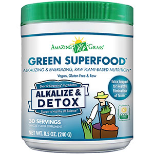 Amazing Grass Alkalize Detox Green SuperFood 240 gm - 30 servings