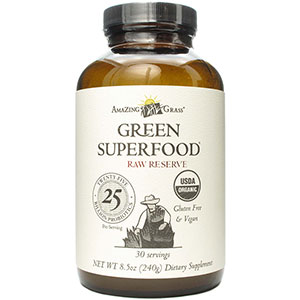 Amazing Grass Raw Reserve Green SuperFood 240 gm, 30 Servings