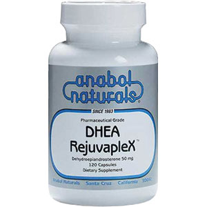Anabol Naturals DHEA RejuvapleX 25 mg - 60 Sublingual Peppermint Tablets