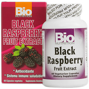 Bio Nutrition Black Raspberry Fruit Extract (Freeze Dried) 60 Capsules