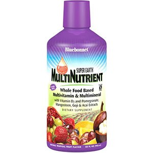 Bluebonnet Nutrition Liquid Super Earth Multinutrient Formula 32 oz - 32 Servings