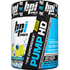 BPI PUMP-HD Pre-Workout Formula Blueberry Lemon Freeze 250 gm 25 Servings