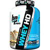 BPI WHEY-HD ULTRA PREMIUM Whey Protein Powder - Vanilla Caramel 4.5 lb - 57 Servings