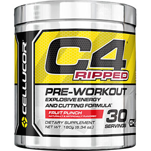 Cellucor C4 RIPPED Fruit Punch 180 gm - 30 Servings