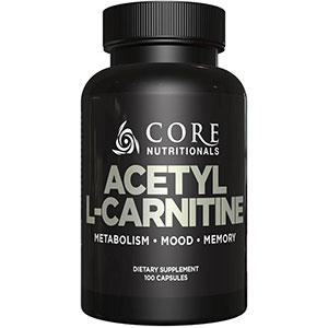 Core Nutritionals Acetyl-L-carnitine 500 mg - 100 Capsules