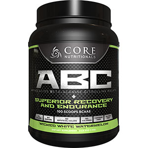 Core Nutritionals ABC Wicked White Watermelon 2 lb 3 oz - 50 Servings