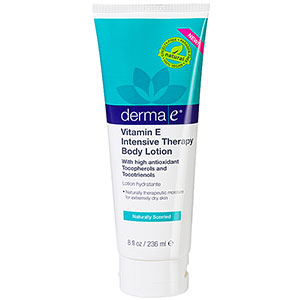 Derma E Vitamin E Intensive Therapy Body Lotion, Naturally-Scented 8 oz